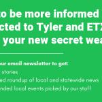 Newsletter Signup Page Header