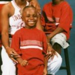 Dreak Scott with his mom and brother, Kyle.