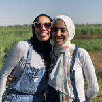 yasmeen in field w:friend