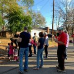 Caroling-in-the-neighborhood